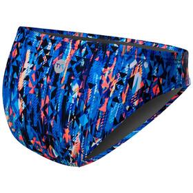 TYR Anzan Lula Slip del bikini Mujer, blue/coral